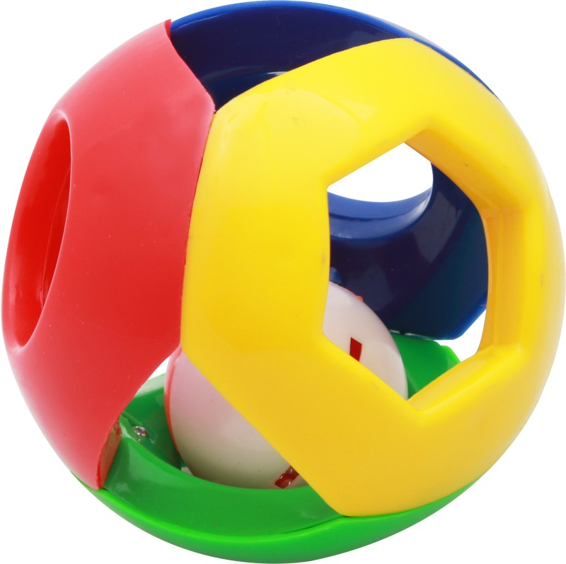 Lovely Collection Funny Ball Rattle(Multicolor)