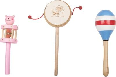 Airwind Wooden Comboset Pink Tik Tik V4 Rattle