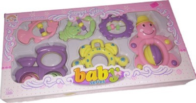 Funny Anmol baby series rattle set Rattle