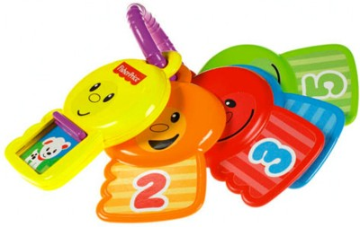 Fisher-Price Count and Explore Keys Rattle