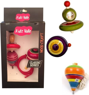 Kidz Valle Assorted Wooden toys Rattle
