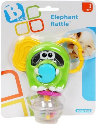 Bkids Elephant ? Teether Toy for Baby Rattle