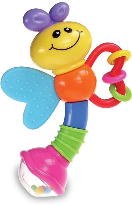 Baby Baby Love Bug Rattle(Multicolor)