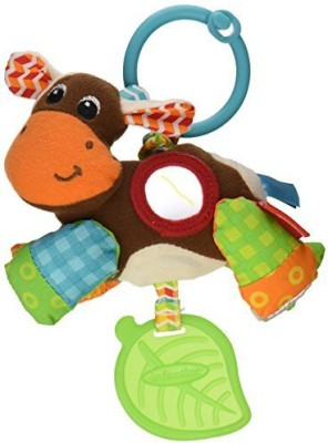 Infantino Peek and Pull Jittery Pal Rattle