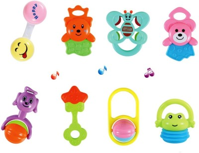 Baby World multicolor non toxic Rattle(Multicolor)