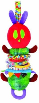 Kids Preferred World of Eric Carle, Develomental Jiggle Caterpillar Rattle