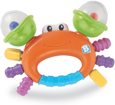 Bkids Sand Crab Rattle Rattle