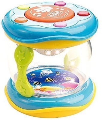 WEofferwhatYOUwant First Drum. Battery operated Music with features for learning Rattle