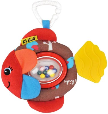 K's Kids Rattling Flippo Rattle(Multicolor)
