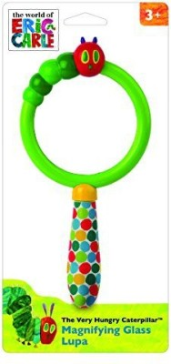 Kids Preferred World of Eric Carle, The Very Hungry Caterpillar Magnifying Glass Rattle