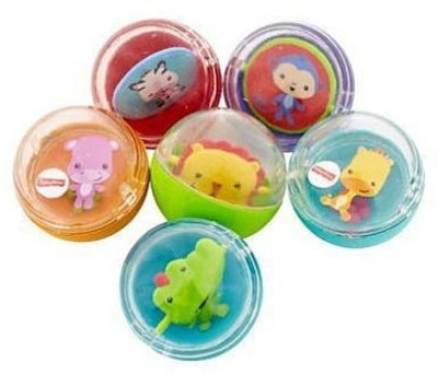 Fisher Price Silly Safari Animal Rounds Rattle