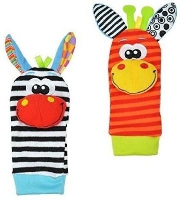 BABY EAMS Animal Socks Rattle