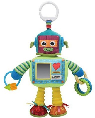 Lamaze Play & Grow Rusty the Robot Take Along Toy Rattle