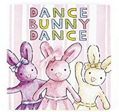 Jellycat Board Books, Dance Bunny Dance Rattle