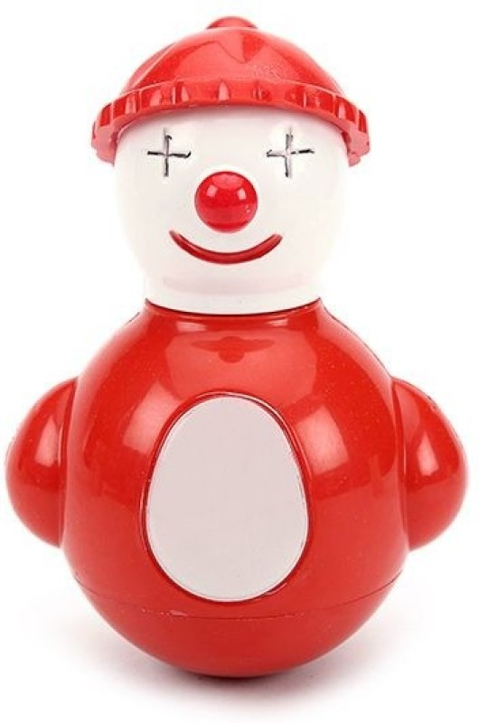 Funworld Joker Roly Poly Rattle(Red)