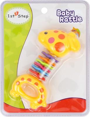 1st Step Deer Rattle Rattle(Multicolor)