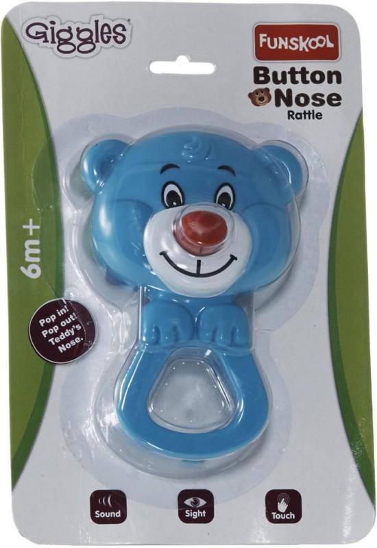 Funskool Button Nose Developmental Toy Rattle(Multicolor)