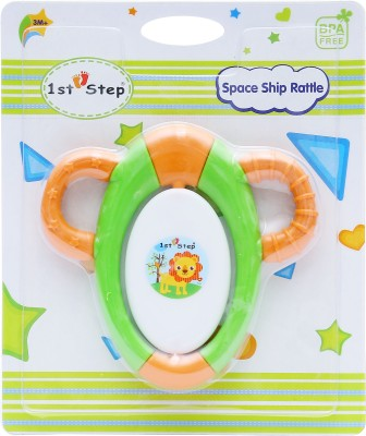 1st Step Space Ship Rattle Rattle(Multicolor)