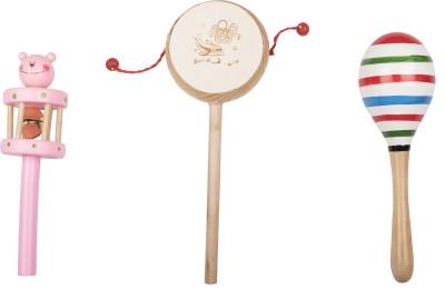 Airwind Wooden Comboset Pink Tik Tik V3 Rattle