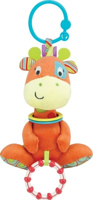 Winfun Little Pals Ptch Grafe Hnd Ratle Squkrs Crinkle sound Rattle