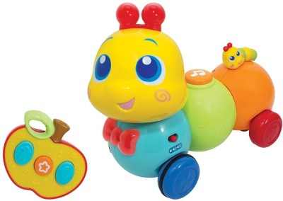 WINFUN RC WRIGGLE N GIGGLE CATERPILLAR - 1140-NL Rattle(Multicolor)