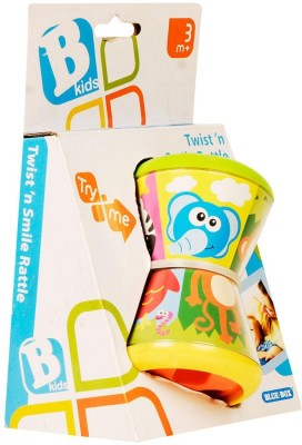 Bkids Twist N, Smile Rattle Assorted Rattle