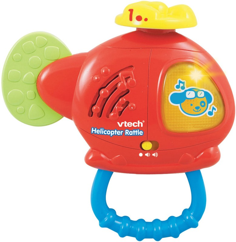 VTech Helicopter Rattle(Multicolor)