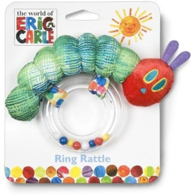 Sesame Street World of Eric Carle, The Very Hungry Caterpillar Ring Rattle