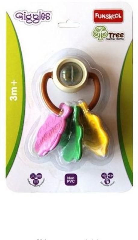 Funskool Giggles Tree Teether Rattle(Multicolor)