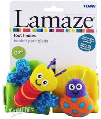 Lamaze Foot Finders Rattle