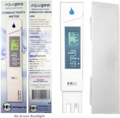 HM AP2 HM AquaPro Digital EC Meter Thermometer(White)