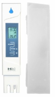 HM EC Meter AP 2 / Water Purity Tester with Plastic Care Box & Temperature Display for RO Service with Built-in Bath Thermometer