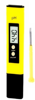 BalRama PH Meter Water Tester LCD Display with Care Box Bath Thermometer