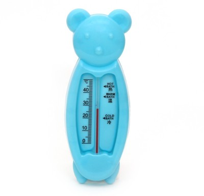 Buddyboo Cartoon Model Room and Bathing Water Temperature Bath Thermometer(Blue)