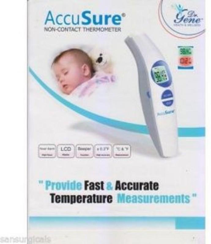 Dr. Gene Non contact Bath Thermometer(White)