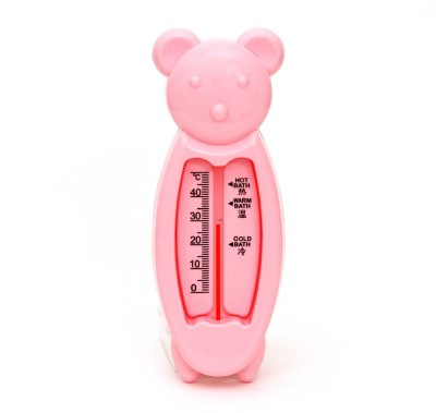 Buddyboo Room and Bathing Water Temperature Thermometer Bath Thermometer(Light Pink)