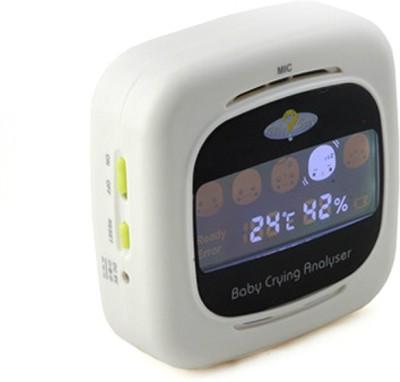 Smiledrive Baby Crying Analyzer Wireless Baby Wet Reminder(White)