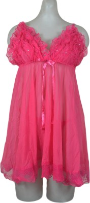 Lady Heart Embellished Babydoll