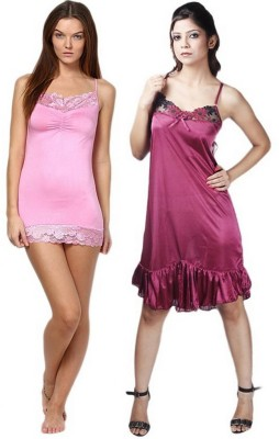 Boosah Solid Babydoll at flipkart