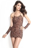 TheShoppingDiary Animal Print Babydoll