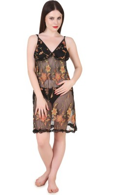 Masha Self Design Babydoll