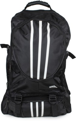 Do Bhai 3-Line-1-Black 21 L Backpack