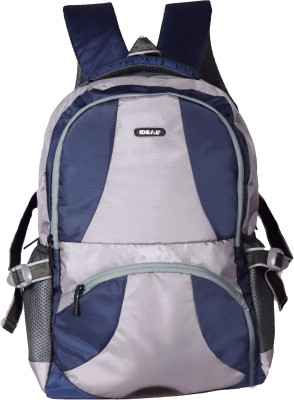 Ideal Streak Grey and Blue 25 L Laptop Backpack