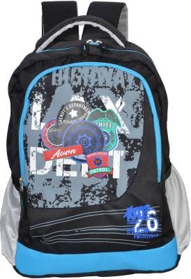 Avon Highway Patrol Black & Blue 26 Litres 30 L Backpack