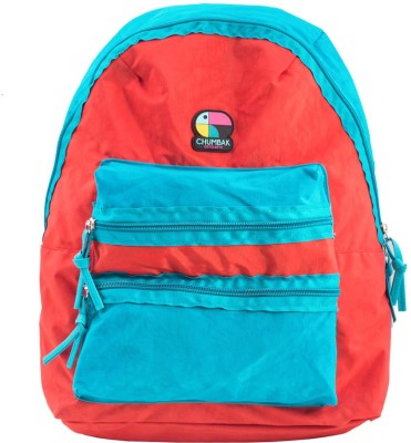 Chumbak Colour Pop Backpack - Red 2 L Backpack