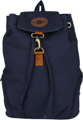 Zobello Casual Dyed Canvas Bagpack 17 L Backpack