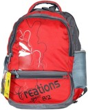 Creation Red 5 L Backpack (Red)