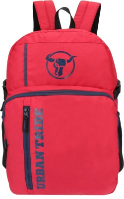 Urban Tribe Trinity Anti Theft 25 L Laptop Backpack(Red)