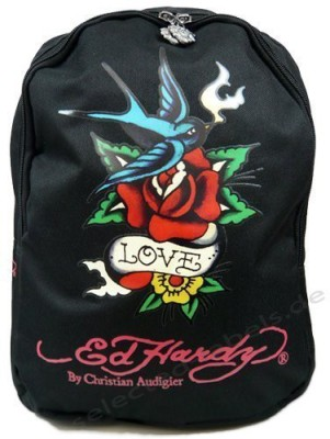 Ed Hardy Love 15 L Backpack