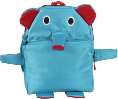 Bleu School Kids Bag - 14 Inches - Appu Elephant shape boys Girls Bag - 31 14 L Backpack